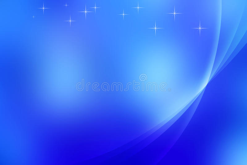 Abstrakcjonistyczny Błękitny tło ilustracji