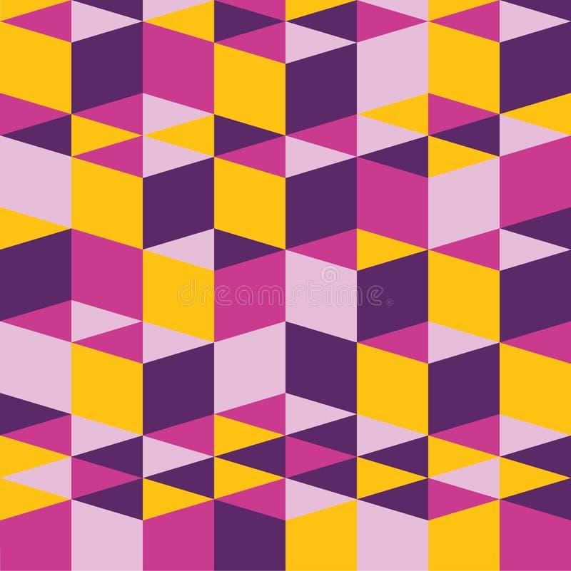 Abstrakcjonistyczny bacground tekstury wzór - fiołek i kolor żółty fotografia royalty free