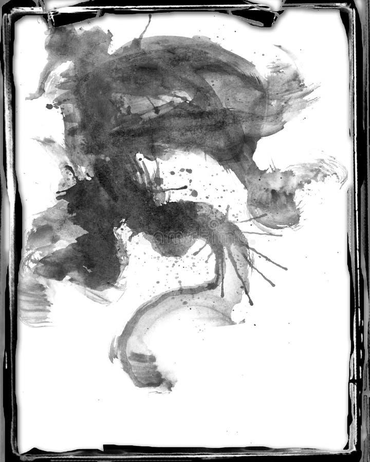 abstrakcjonistyczny backgrund grunge ilustracja wektor