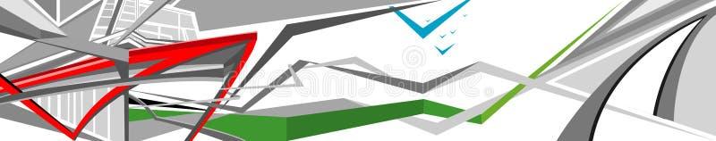 abstrakcjonistyczny backround ilustracja wektor