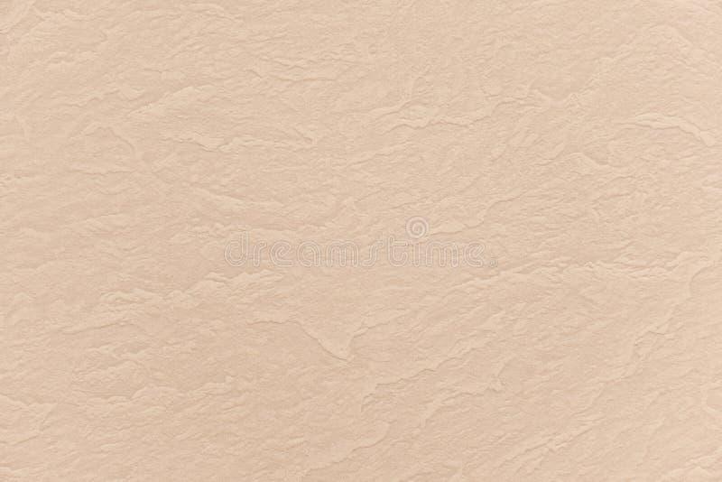 Abstrakcjonistyczny beż marszczący papierowy tekstury tło zdjęcia stock