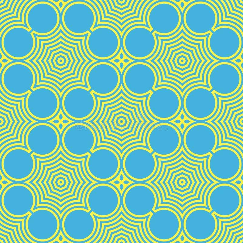 Abstrakcjonistyczny bezszwowy koloru wzór zdjęcia stock
