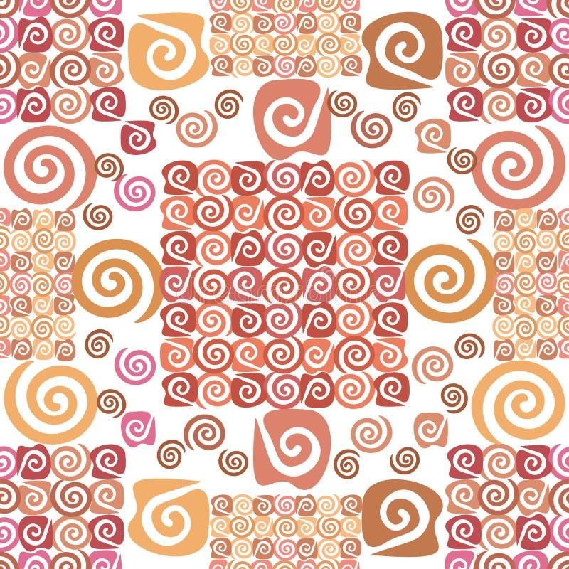 Download Abstrakcjonistyczny Bezszwowy Tło Ilustracja Wektor - Ilustracja złożonej z tkanina, ozdobny: 28973215