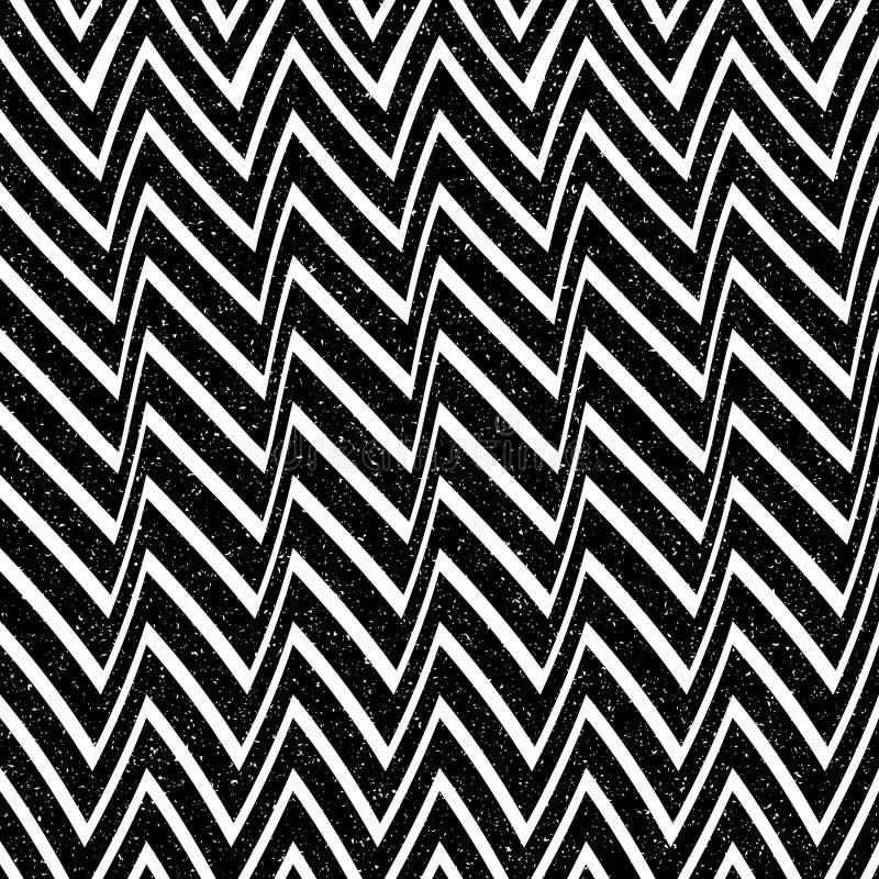 Abstrakcjonistyczny bezszwowy wzór linie i kąty Okulistyczny złudzenie astronautyczny wykoślawienie ilustracji