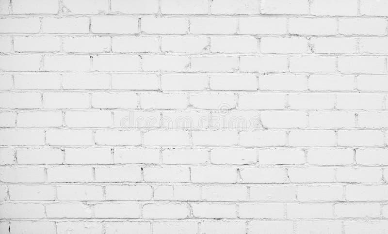 Abstrakcjonistyczny Biały Ceglany tło zdjęcia stock