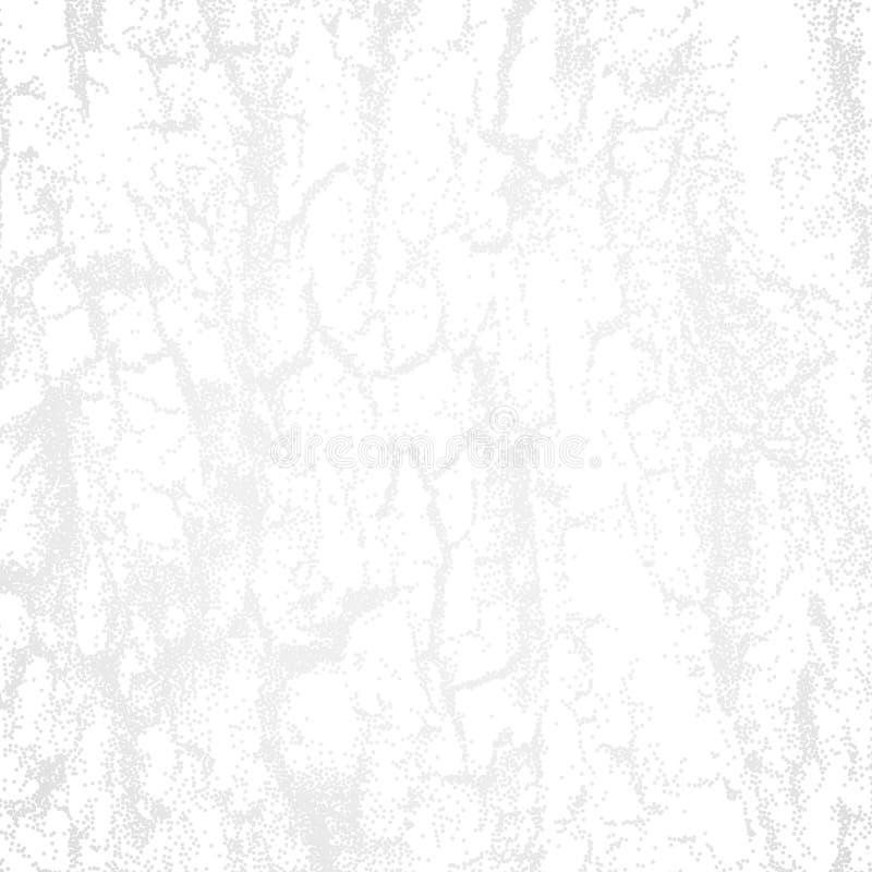 Abstrakcjonistyczny biały tło z dotwork teksturą drewniana skorupa lub ilustracja wektor