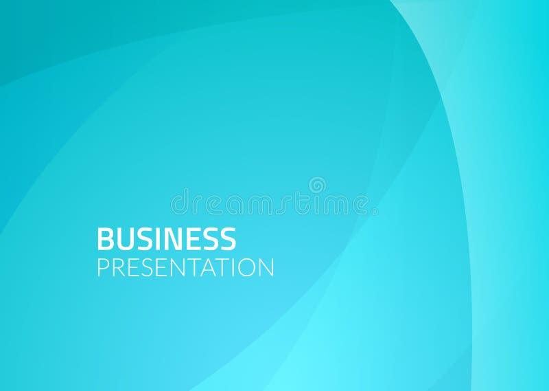 Abstrakcjonistyczny biznesowy wektorowy tło Błękitna graficznego projekta ilustracja Biznesowy tapeta wzór ilustracji