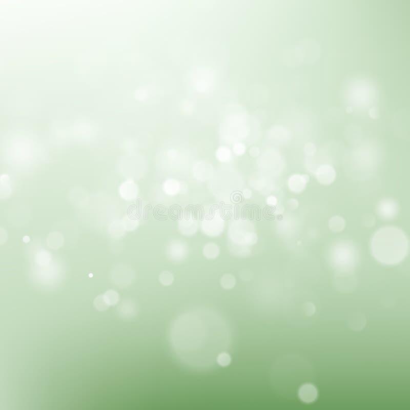 Abstrakcjonistyczny bokeh światła rocznika tło 10 eps ilustracji