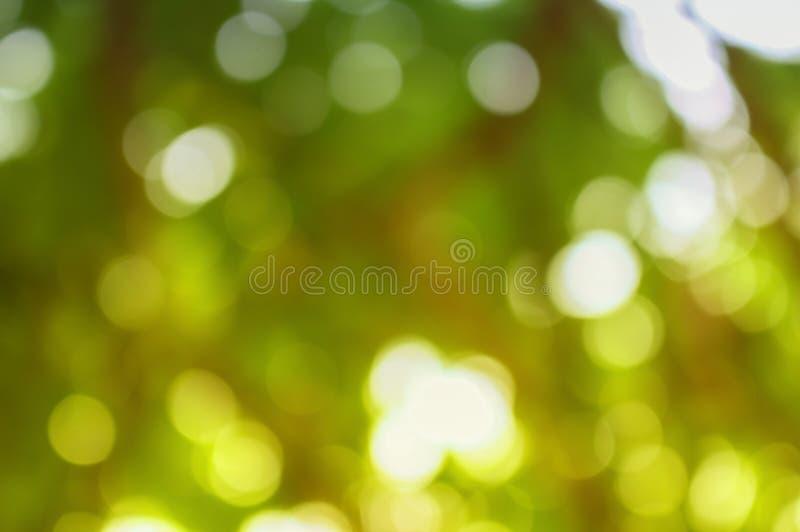 Abstrakcjonistyczny Bokeh koloru naturalny tło zdjęcia royalty free