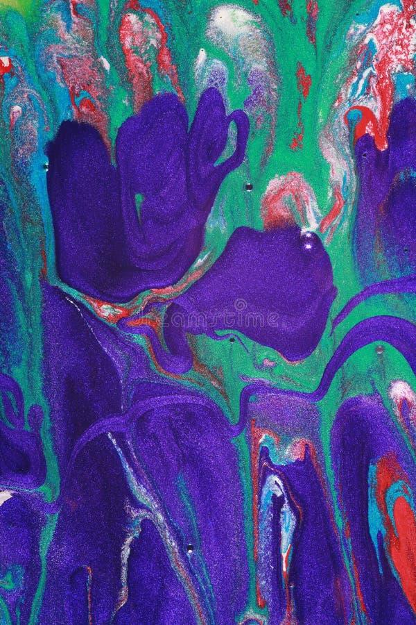 abstrakcjonistyczny brezentowy obraz obraz royalty free