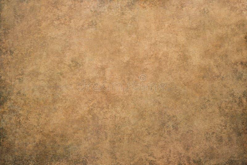 Abstrakcjonistyczny brown rocznika tło zdjęcie stock