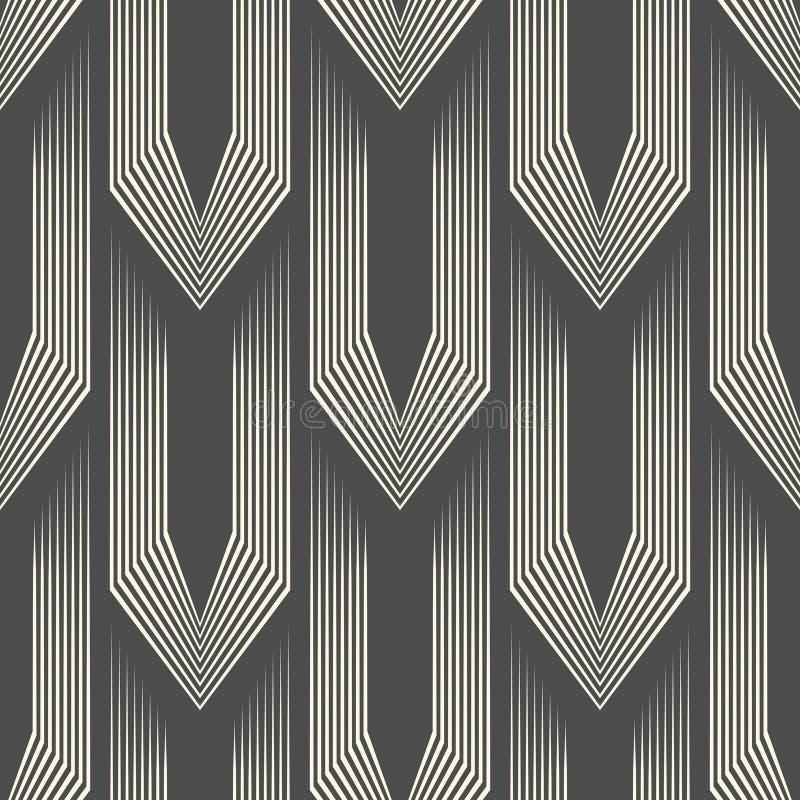 Abstrakcjonistyczny celta tło Bezszwowy Hauberk wzór royalty ilustracja