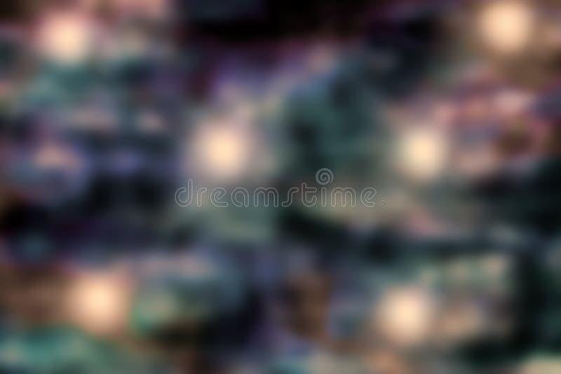 Abstrakcjonistyczny Ciemny Grunge Barwi tło ilustracja wektor