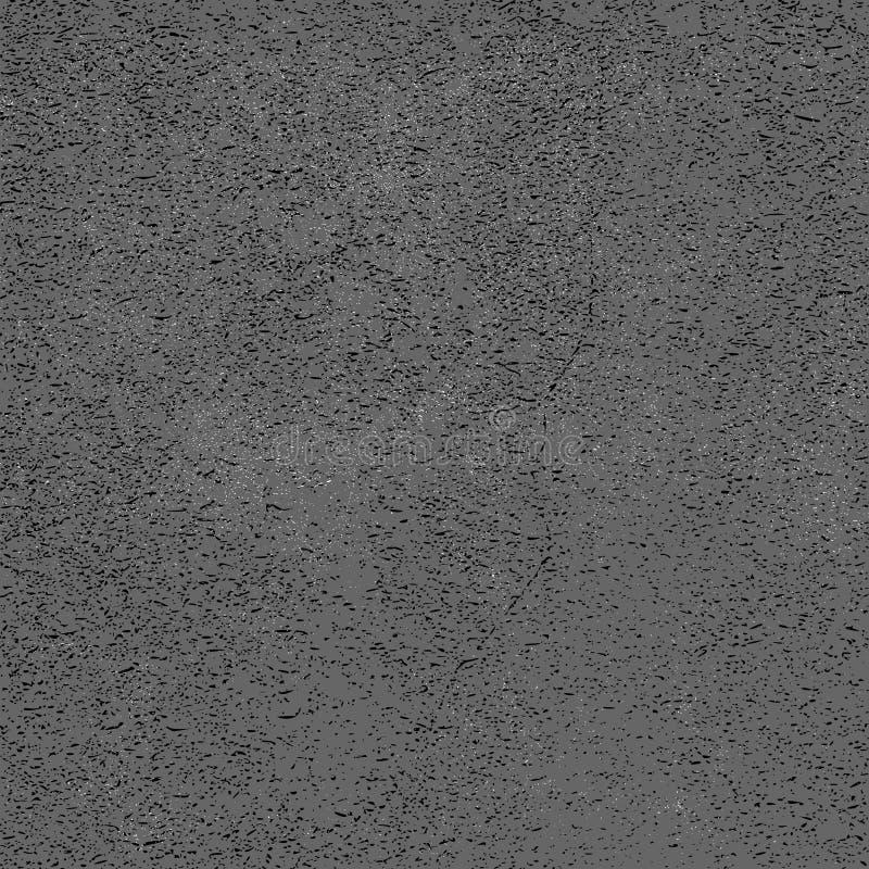 Abstrakcjonistyczny cierpienia tło, Sztukateryjny Grunge, cement Lub beton, ilustracji