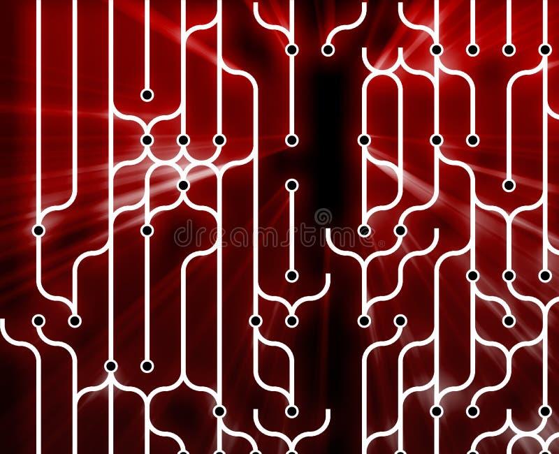 abstrakcjonistyczny circuitry royalty ilustracja