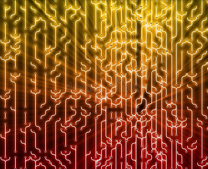 abstrakcjonistyczny circuitry ilustracja wektor