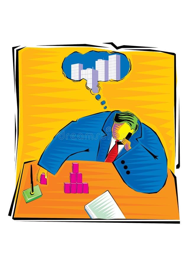 Abstrakcjonistyczny Clipart Biznesowi elementy ilustracja wektor