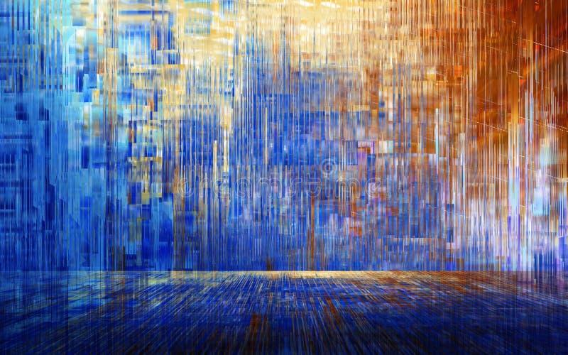 Abstrakcjonistyczny Colour tło, tapeta & ilustracji