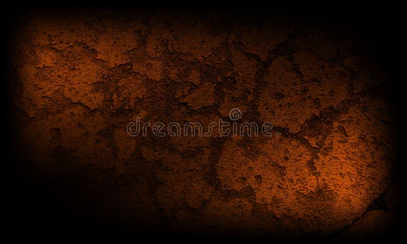 Abstrakcjonistyczny czarnego i ciemnego brązu tekstury tło ilustracja wektor