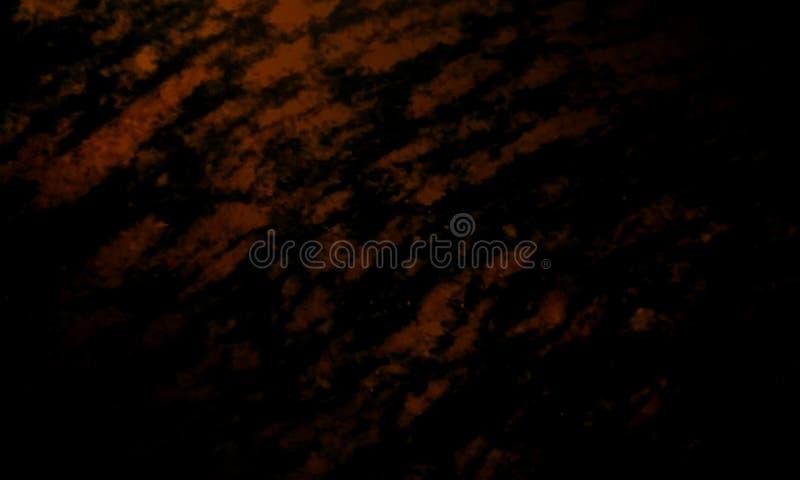 Abstrakcjonistyczny czarnego i ciemnego brązu tekstury tło ilustracji