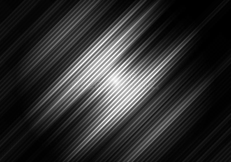 Abstrakcjonistyczny czarny i biały koloru tło z diagonalnymi lampasami Geometryczny minimalny wz?r Ty możesz używać dla okładkowe ilustracja wektor