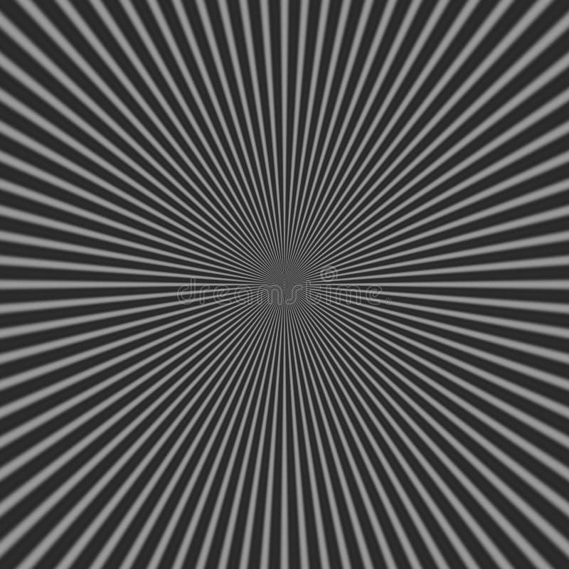 Abstrakcjonistyczny czarny i biały krzyża wzór ilustracji