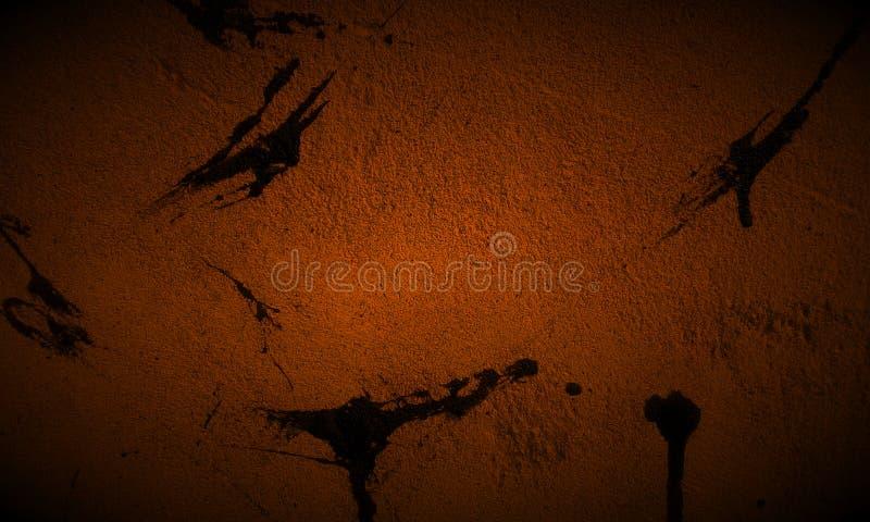 Abstrakcjonistyczny czarny i brąz tekstury tło royalty ilustracja