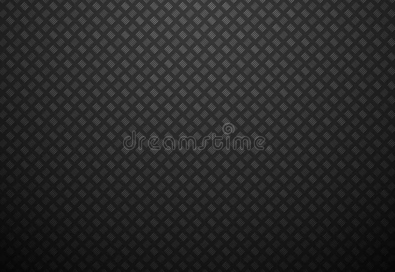 Abstrakcjonistyczny czarny metalu tło royalty ilustracja