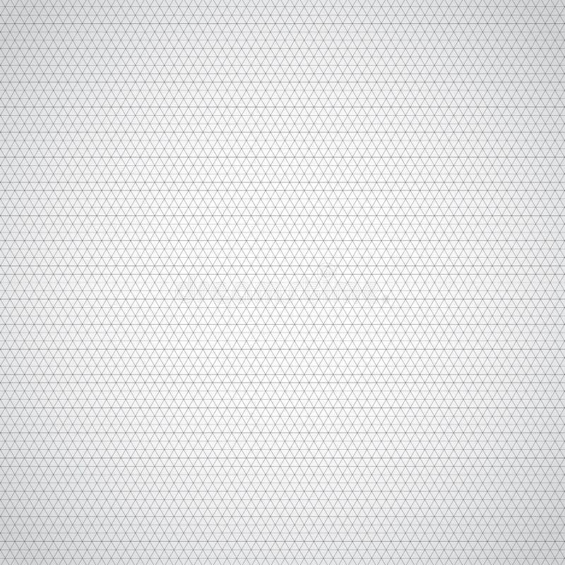Abstrakcjonistyczny czarny trójbok granicy wzór na białej teksturze i tle Geometryczny szablon może używać dla broszurki, sztanda royalty ilustracja