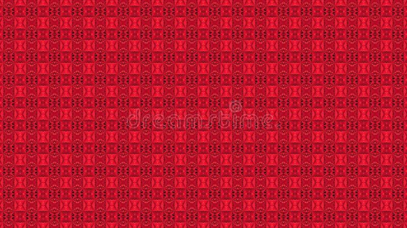 Abstrakcjonistyczny czerwony t?o z liniami fotografia stock