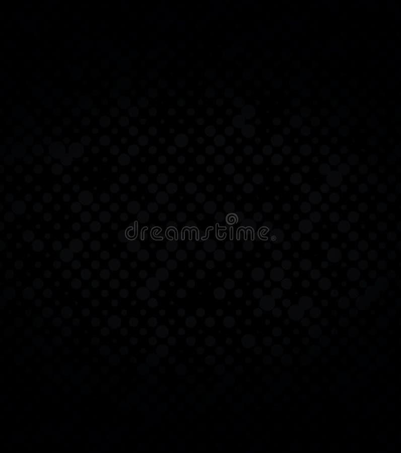 Abstrakcjonistyczny dalmatian wzór, czerni kropki na białym tle druk Chaotyczni mali czarni okręgi, monochrom ilustracji