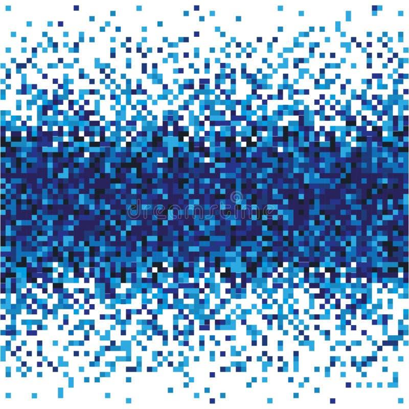 Abstrakcjonistyczny dane przepływu technologii wzór Błękit obciosuje tło ilustracji