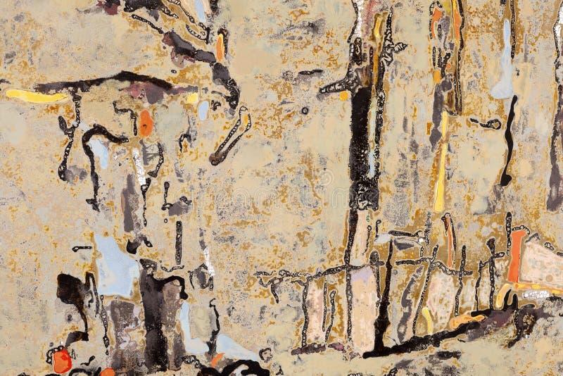 Abstrakcjonistyczny dekoracyjny laka obraz, adobe rgb zdjęcia royalty free