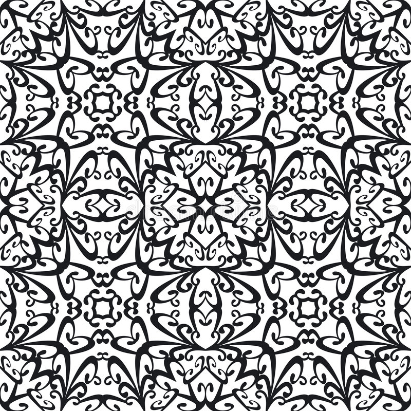 abstrakcjonistyczny deseniowy bezszwowy royalty ilustracja