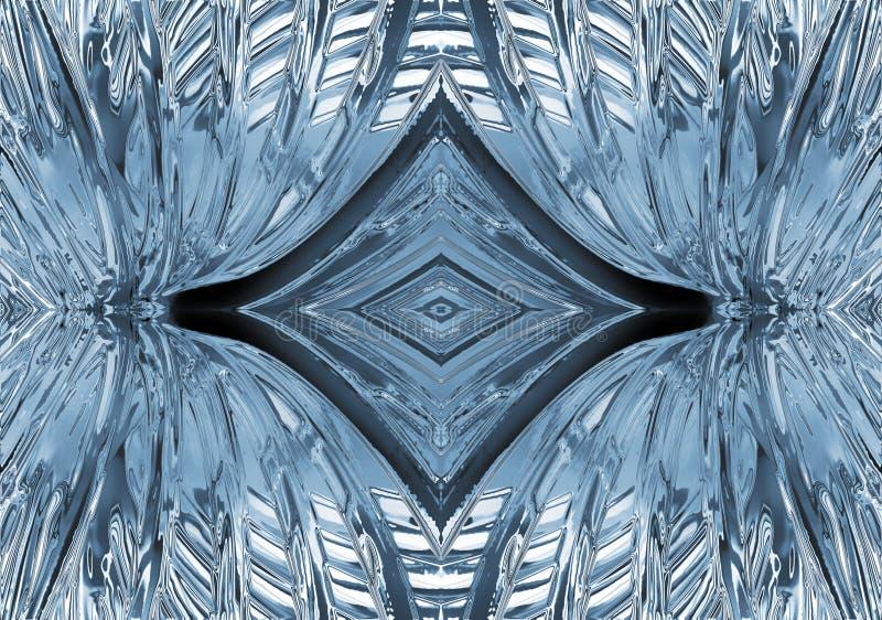 abstrakcjonistyczny deseniowy kształt royalty ilustracja