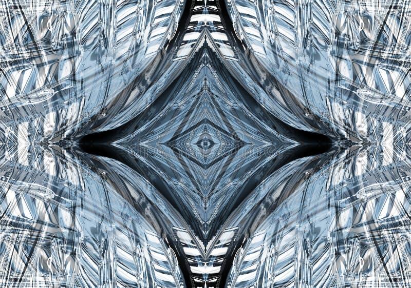 abstrakcjonistyczny deseniowy kształt ilustracji