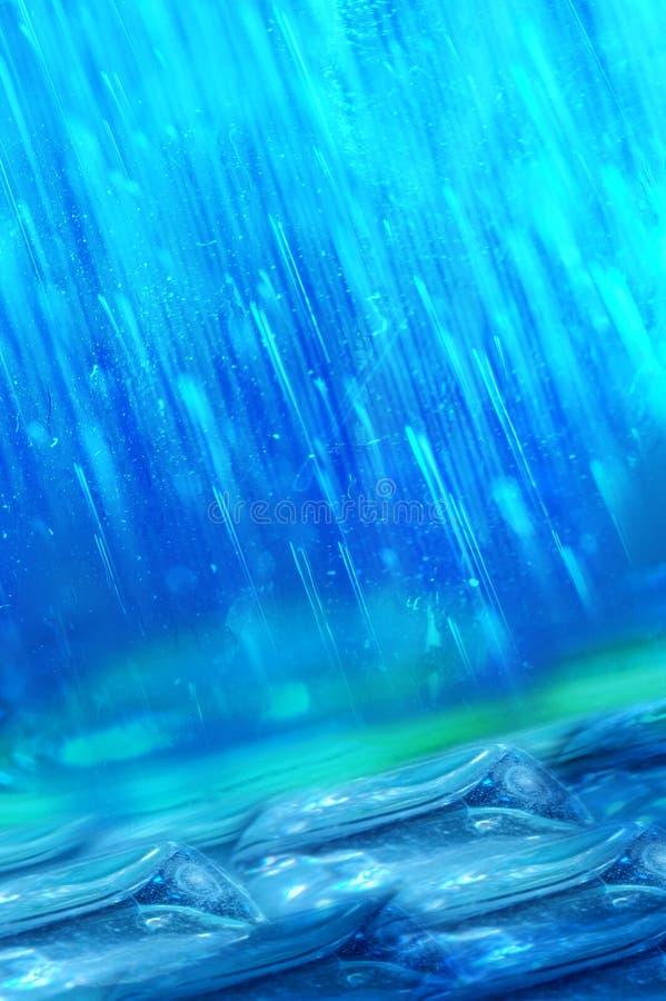 abstrakcjonistyczny deszcz royalty ilustracja