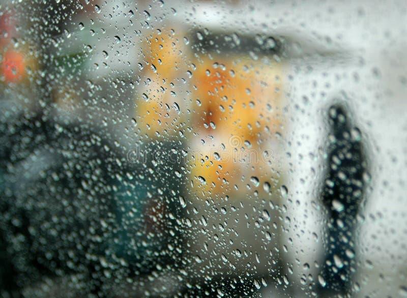 abstrakcjonistyczny deszcz fotografia stock