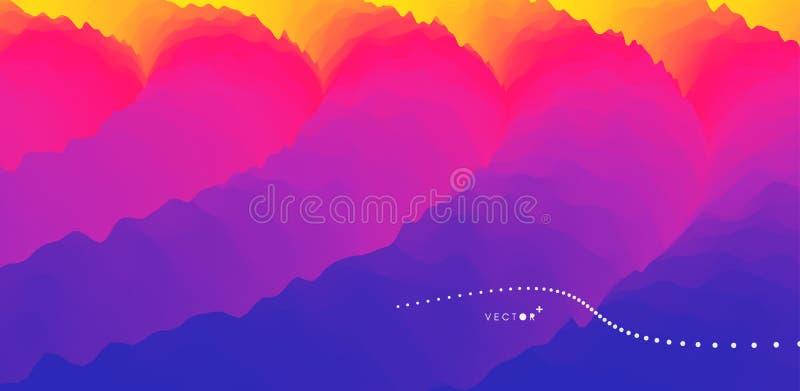 8 abstrakcjonistyczny dodatkowy t?a dynamicznego skutka eps format Ruchu wektoru ilustracja Modni gradienty Mo?e u?ywa? dla rekla ilustracja wektor