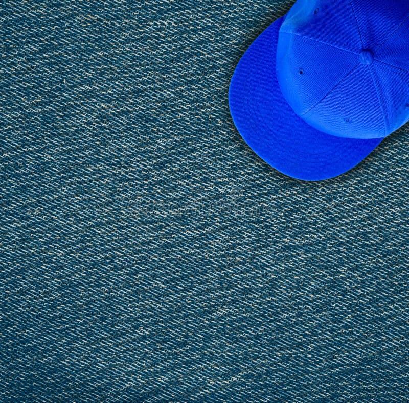 Abstrakcjonistyczny drelichowy tekstury tło fotografia royalty free