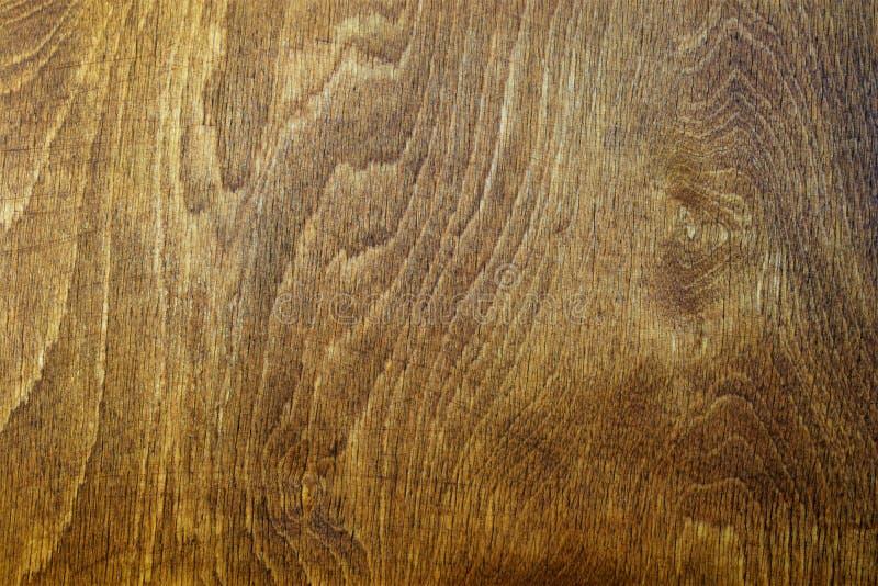 Abstrakcjonistyczny drewniany tekstury brązu kolor, mnóstwo włókna tworzyć unikalnego wzór obrazy stock