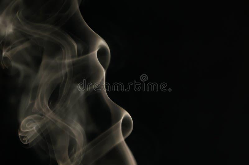 abstrakcjonistyczny dym