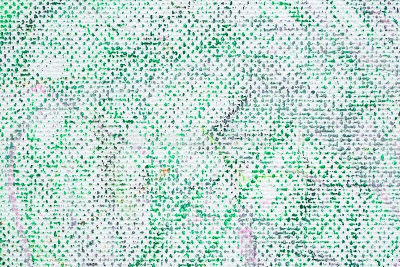 Abstrakcjonistyczny farba kolor na brezentowym tle fotografia stock