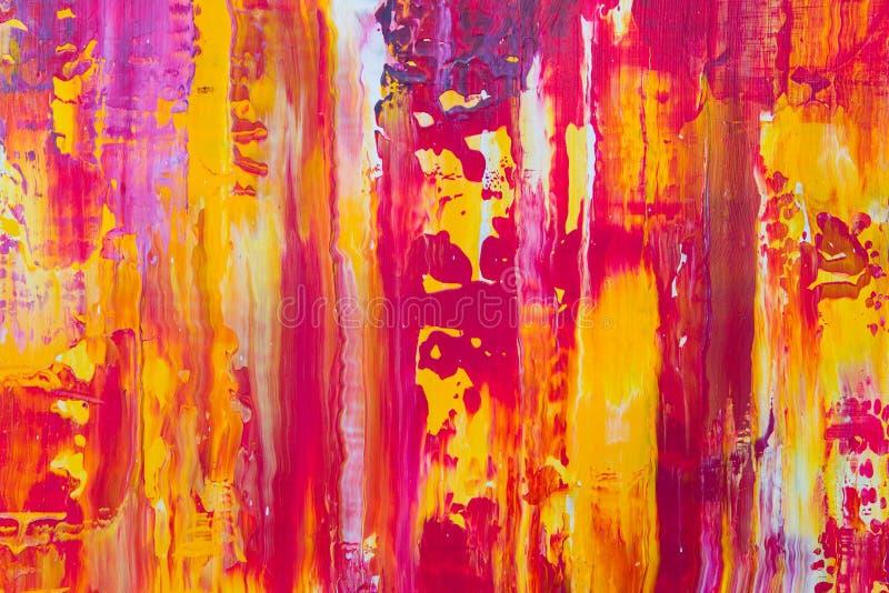 Abstrakcjonistyczny farba koloru tło obraz stock