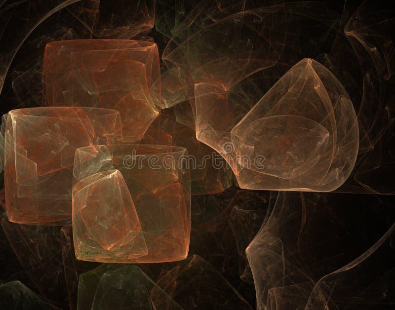 Abstrakcjonistyczny Fractal zdjęcie royalty free