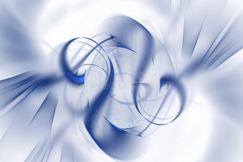 Abstrakcjonistyczny fractal ilustrujący tło odpłacający się tapetowym ilustracji