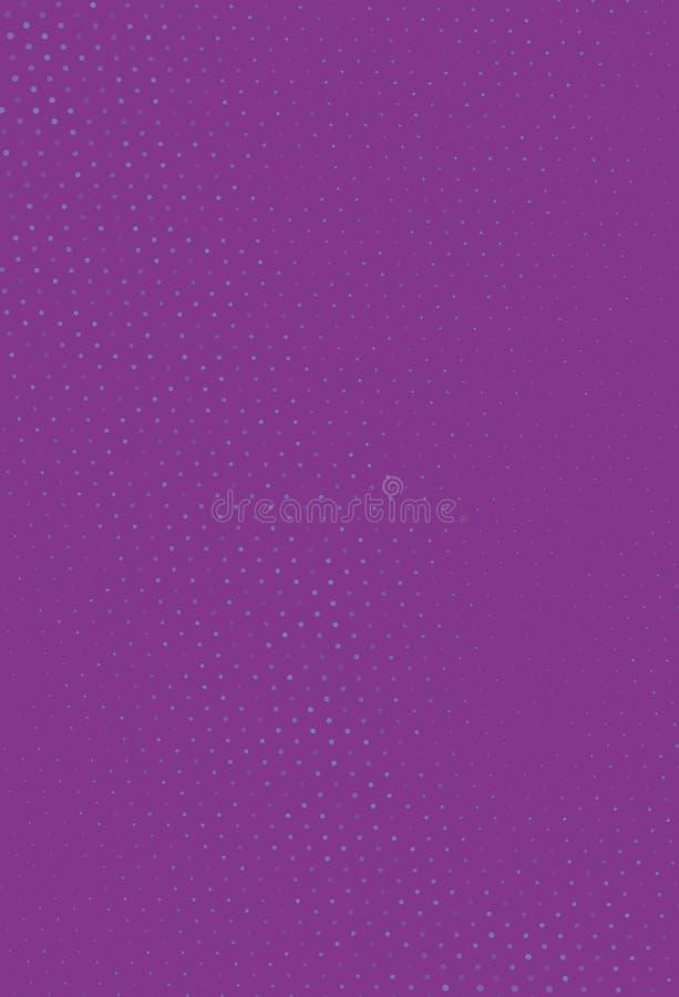 Abstrakcjonistyczny futurystyczny halftone wzór Cyfrowego gradient Kropkowany tło z okręgami, kropki, punkt mała skala ilustracja wektor