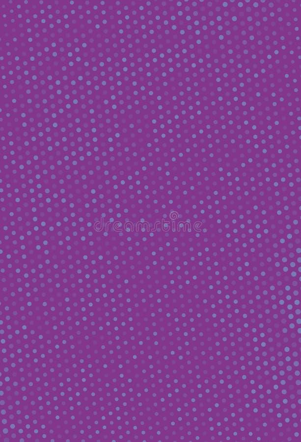 Abstrakcjonistyczny futurystyczny halftone wzór Cyfrowego gradient Kropkowany tło z okręgami, kropki, punkt mała skala ilustracji