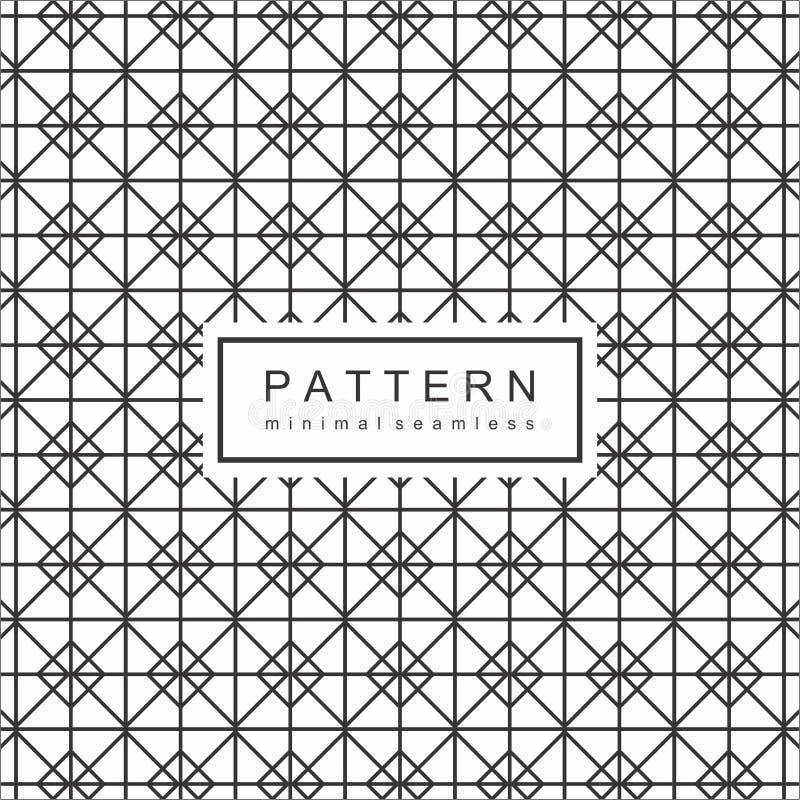 Abstrakcjonistyczny Geomatric linii wzoru tło royalty ilustracja