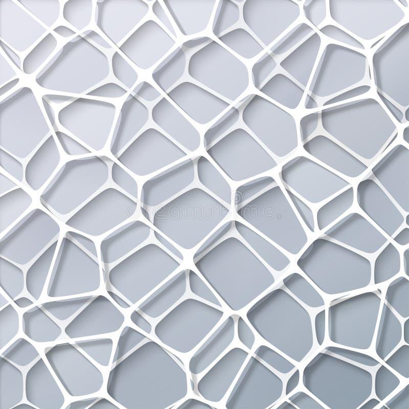Abstrakcjonistyczny geometria bielu tło zdjęcia royalty free